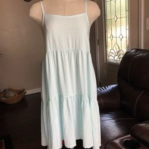 NWOT Small xhilaration Dress nightgown checkered